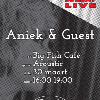 Big Fish Café | Poster | Sunday Live