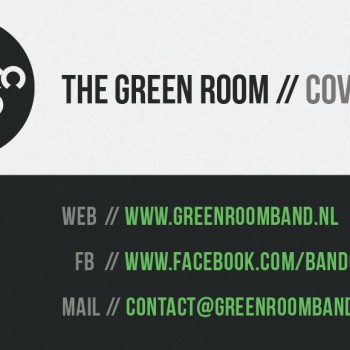 The Green Room | Visitekaartje
