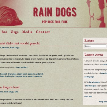 Rain Dogs | Website | Home